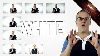 DIY a WHITE BACKGROUND for $0 - Basic Filmmaker Ep 195