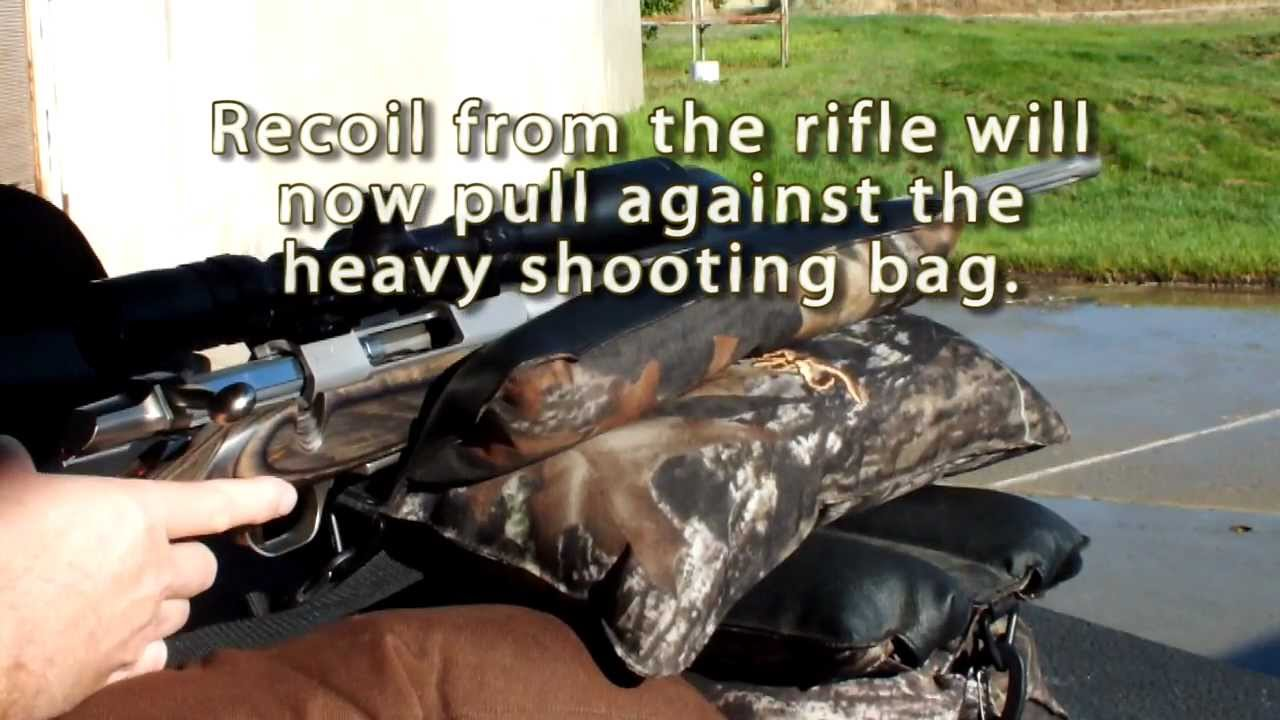 A Simple Way I Manage Rifle Recoil at the Shooting Bench