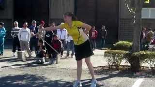 Repeat youtube video スゴ技先生の縄跳びパフォーマンスに拍手喝采!ブラボー!!ロープスキッピング