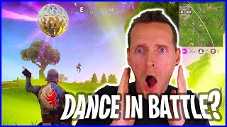 Dance on the Battlefield - Learning How to Play Fortnite with Passive Strategy
