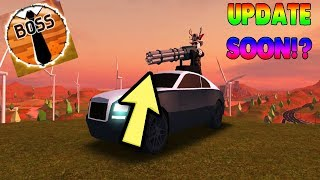 NEW UPDATE VERY SOON!? | Roblox Jailbreak Weapons And More! Update