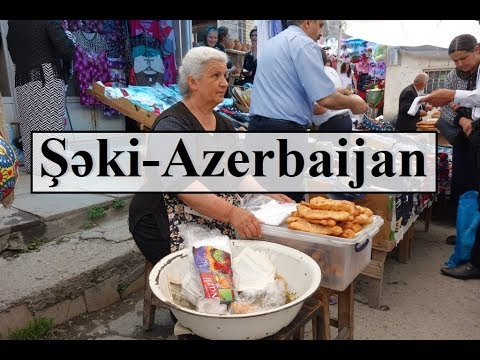Azerbaijan (Beautiful Şəki Bazar-Market) Part 25