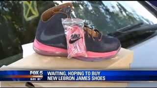Atlanta Crook Thinks Patrons Buying $180 Lebron James Shoes Won