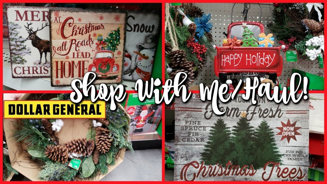 Is Dollar General Open On Christmas.Shop With Me Dollar General Farmhouse Christmas 2018