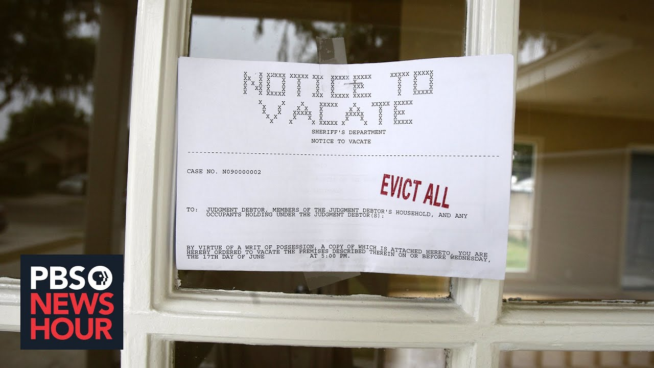 Why more renters are being evicted in the middle of the pandemic