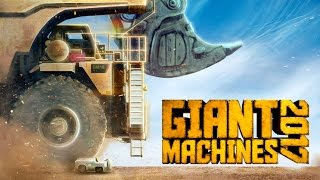 Giant Machines 2017 - Giant Excavator and Dumper! - Let