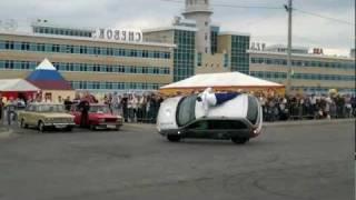 Автородео - шоу каскадеров на Дне города Чебоксар 21.08.11.
