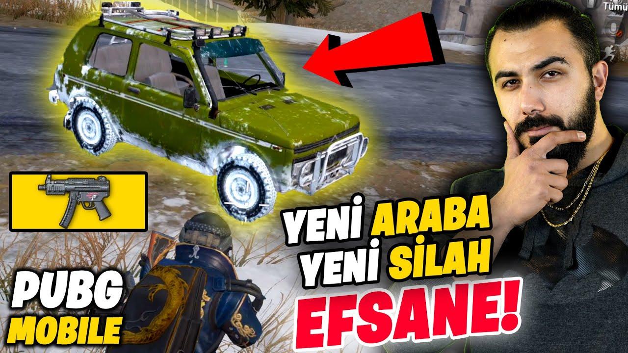 EFSANE YENİ ARABA VE YENİ SİLAH MP5K!! SİZCE NASIL OLMUŞ?? | PUBG Mobile (Vikendi Gameplay)