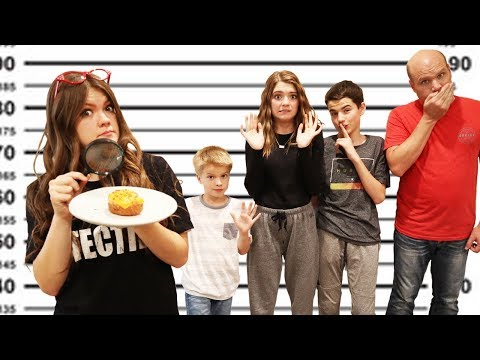 Detective Guesses Who Ate The Donut I Aud Vlogs