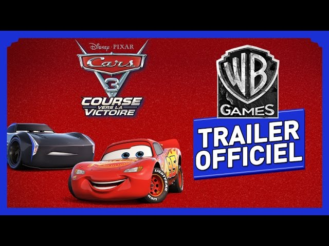 cars 3 course vers la victoire ps4 au meilleur prix sur. Black Bedroom Furniture Sets. Home Design Ideas