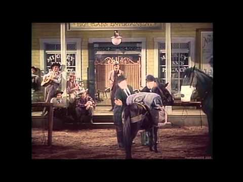 Laurel & Hardy - At The Ball, That's All (Way Out West) (1937) (Colour) (HD)
