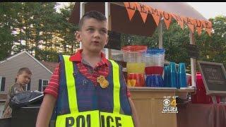 Grafton Boy Raises Money For Police Officer Battling Cancer