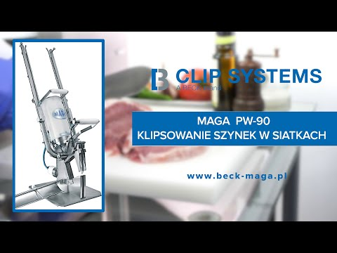 MAGA PW-90 - S/KB/PP clipping hams in nets
