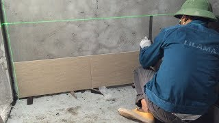 Construction Plans Available - How To Install Wall Ceramic Tiles Bathroom Exactly