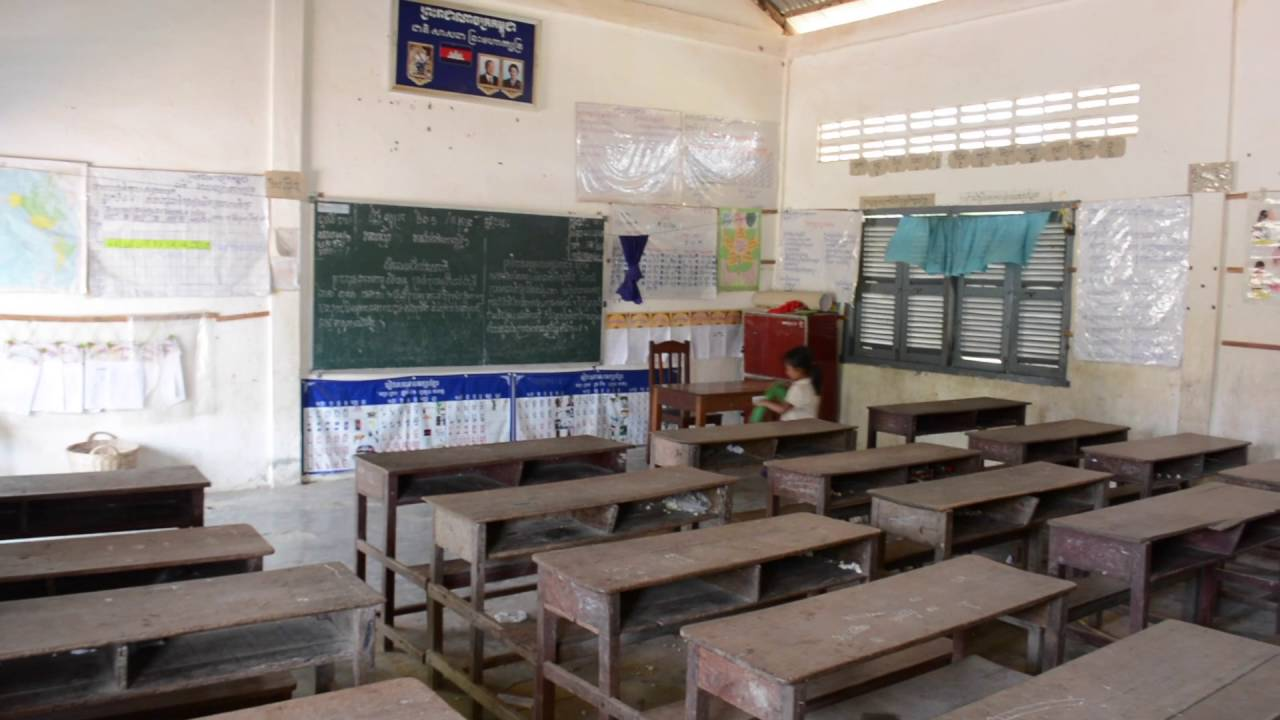 Elementary Classroom Playlist ~ Elementary school classrooms in siem reap province