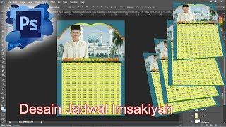 Download Video cara membuat desain jadwal imsakiyah 1439 H | 2018 M MP3 3GP MP4