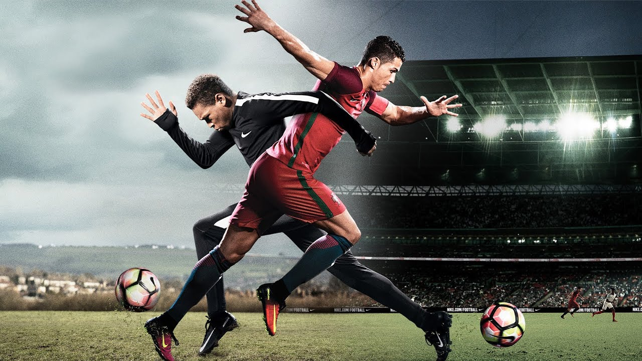 Nike Football Presents The Switch ft Cristiano Ronaldo, Harry Kane, Anthony  Martial & More