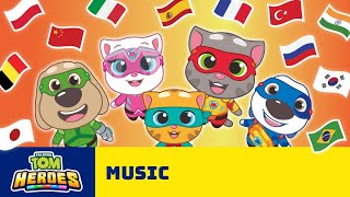 Sing Like a Hero! Talking Tom Heroes Song in 14 Languages