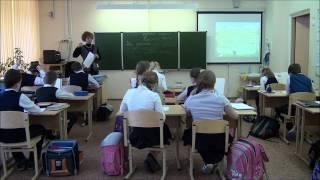 Школа 2053. Открытый урок «Глагол как часть  речи»