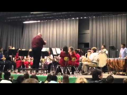 Margaret Green Junior High School Band, Mississippi