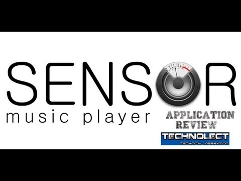 Sensor music player android app review