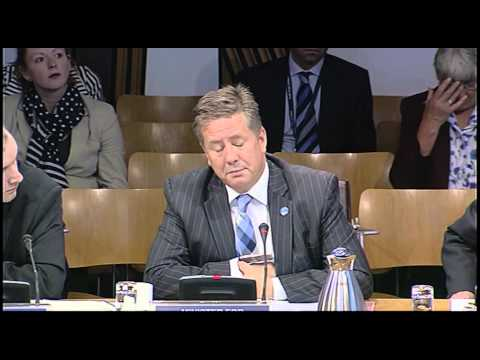 Infrastructure and Capital Investment Committee - Scottish Parliament: 25th September 2013