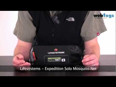 Lifesystems Expedition SoloNet Mosquito Net - Tried And Tested Protection Against Mosquito's