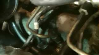 mercedes a170 cdi engine running without inlet manifold