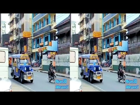 3D TV - Streets of Metro Manila, Philippines (SBS half)