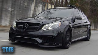 homepage tile video photo for 900HP AMG Wagon is the Ultimate Tuner Troll (E63 Alpha 9 Mercedes Wagon)