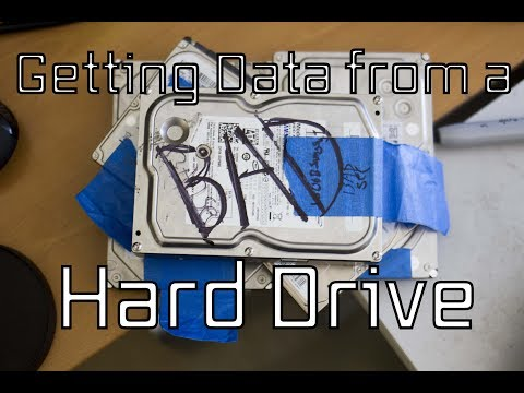 How to use Ddrescue to get data from a failing drive