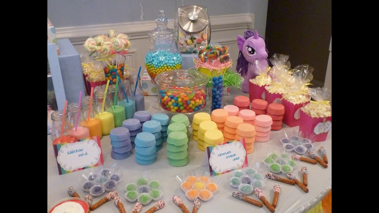 My Little Pony Party Decorating Ideas