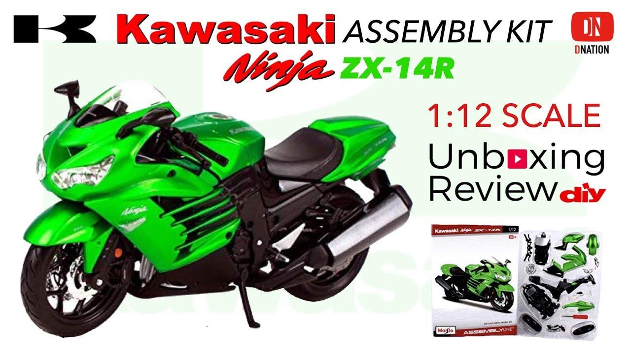 Maisto 1//12 Kawasaki ZX-14R Motorcycle Diecast Allory Bike Model Collection