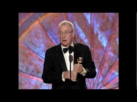 Michael Caine Wins Best Actor Motion Picture Musical or Comedy - Golden Globes 1999