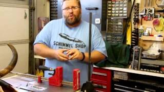 Penmini Clamp Pen Press. Basic Pen Making.