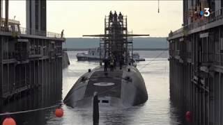 À Brest, le sous-marin nucléaire le Téméraire s'est refait une santé