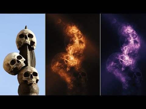 Photoshop Tutorial | Smoke Photo Effect Photoshop Actions | Tasty Tutorials