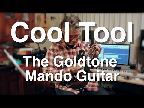 cool tool - the gold tone mando guitar