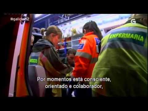 Galicia 112 - Saída do 061 nas rúas de Ourense