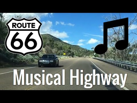 Musical Highway Route 66 New Mexico Youtube