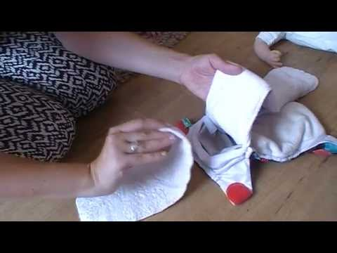 {How To} Put On A Totsbots Reusable Nappy