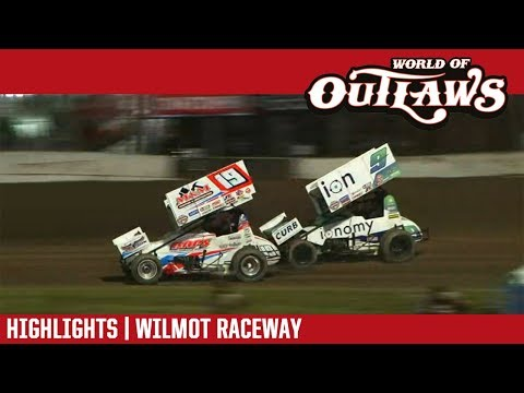 World of Outlaws Craftsman Sprint Cars Wilmot Raceway June 2, 2018 | HIGHLIGHTS