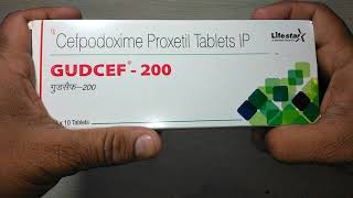 Gudcef 200 Tablets uses composition side effects precaution & review in English