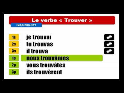 Fransizca Ogrenmek Conjugaison Trouver Indicatif Passe Simple Youtube