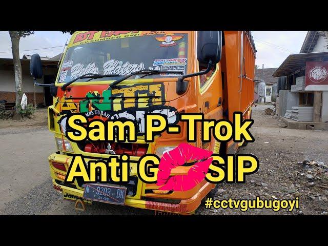 Anti G????SIP Truk Melintas Di Purwodadi Kena #cctvgubugoyi | Sam P-Trok Embun Pagi | Ichat Maulana