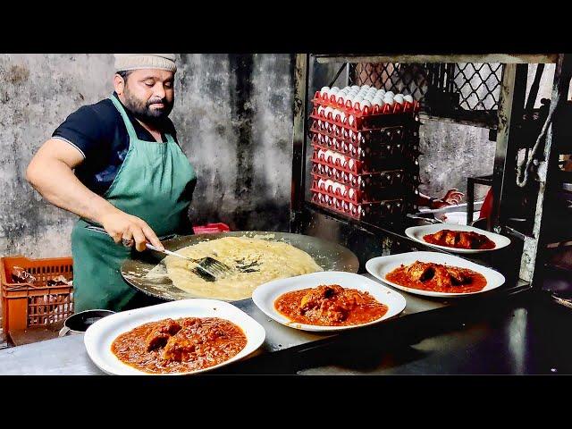 EGG MUGHLAI KING Of INDIA | Huge Butter Egg Roll Dish | Indian Street Food