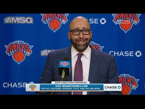 David Fizdale: This Was a Dream Come True | New York Knicks | MSG Networks