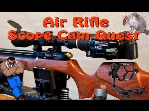 An Air Rifle Scope Cam Quest