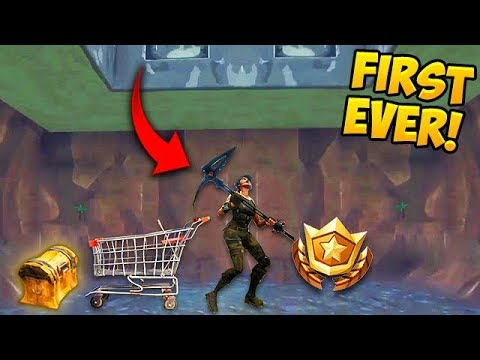 HOW TO *GET INSIDE* THE SECRET BUNKER! - Fortnite Funny Fail