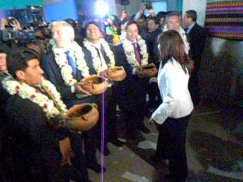 Presidente inaugura campo ferial a la altura de La Paz